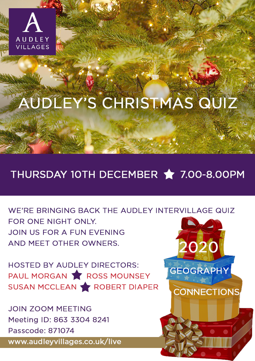 Audley Christmas Quiz