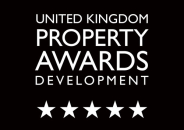 Five stars UK property awards Best Developer Website United Kingdom