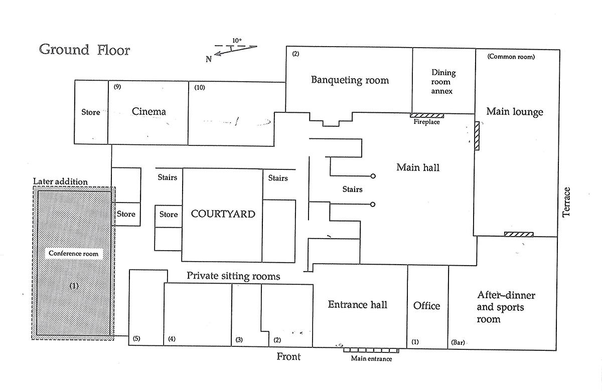 Sunningdale Park ground floor
